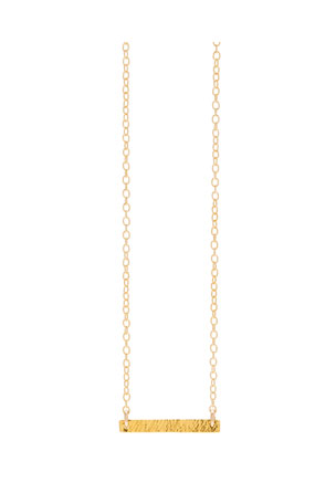 gorjana Knox Bar Pendant Necklace