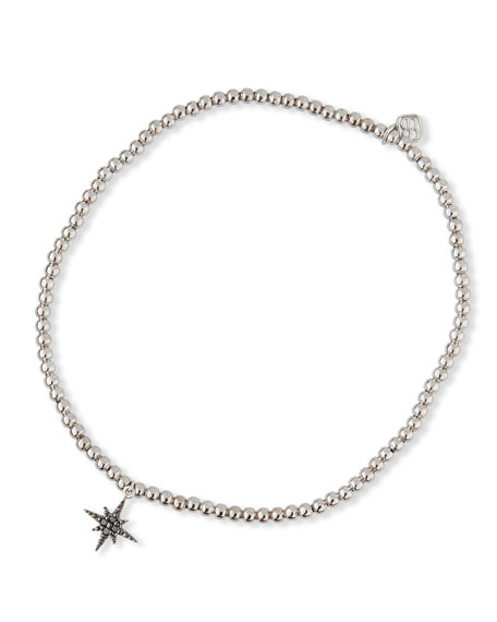Sydney Evan 14k White Gold Diamond Starburst Bracelet