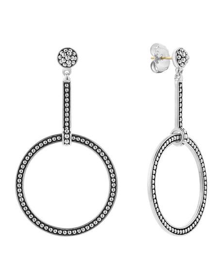 LAGOS Enso Circle-Drop Earrings