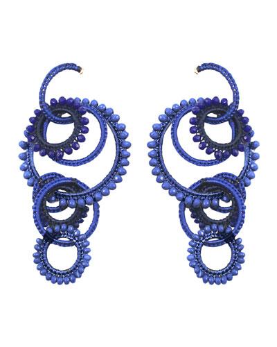 Tallulah Interlocking Drop Earrings