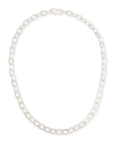 Sterling Silver Chain Necklace  30L