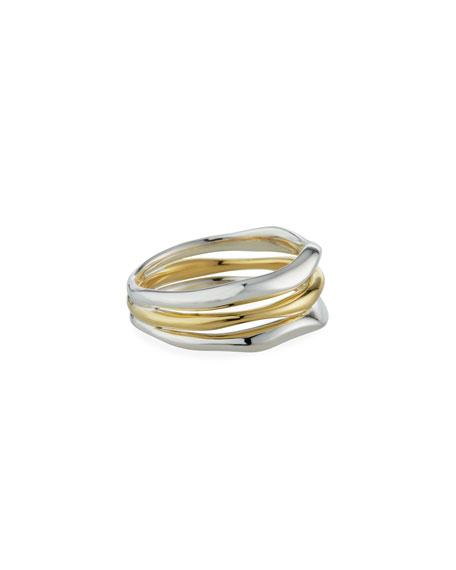 Ippolita Chimera 2-Tone 3-Row Ring, Size 7