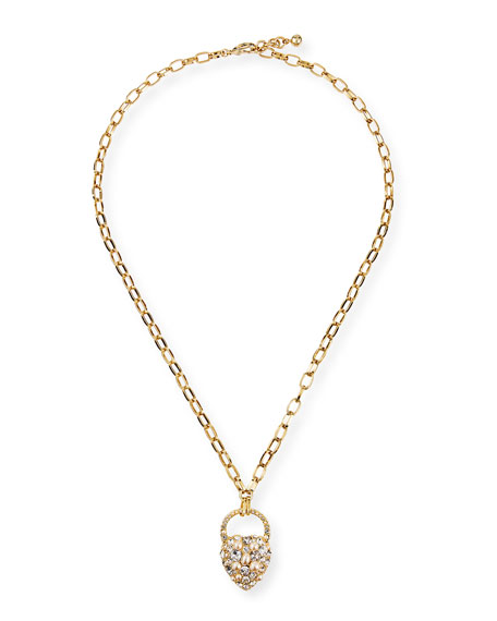 Lulu Frost Nina Crystal & Pearly Pendant Necklace