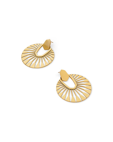 Kendra Scott Didi Sunburst Earrings