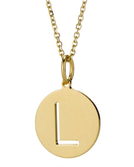Sarah Chloe Eva Cutout Pendant Necklace