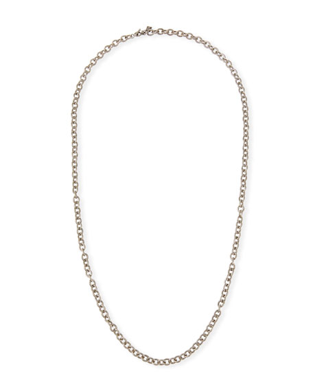 "Armenta Old World Long Chain-Link Necklace, 30""L"