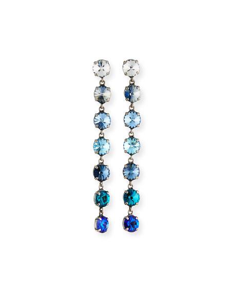 Rebekah Price Flo Linear Drop Earrings