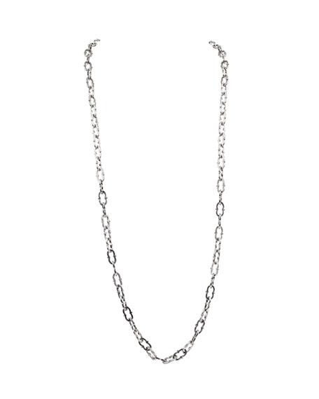 Konstantino Kleos Silver Figure 8-Link Necklace