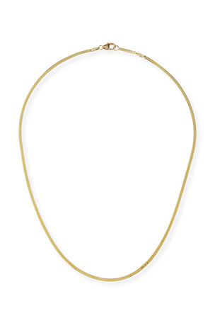 Lana 14k Liquid Gold Thin Chain Choker