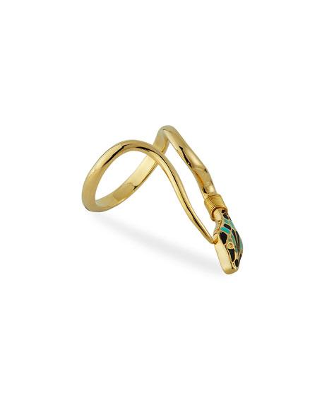 Gas Bijoux Naja Snake Ring