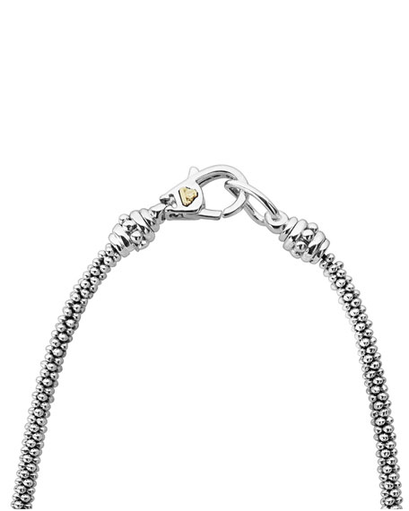 Image 3 of 4: Lagos Diamond Lux Diamond-Station Necklace