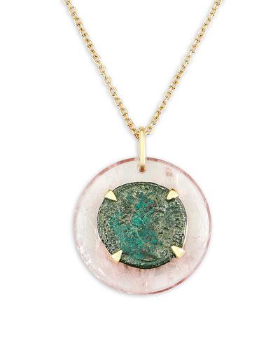 18k Constantine Medallion Necklace