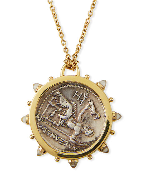 Dubini Alexander the Great Medallion Necklace