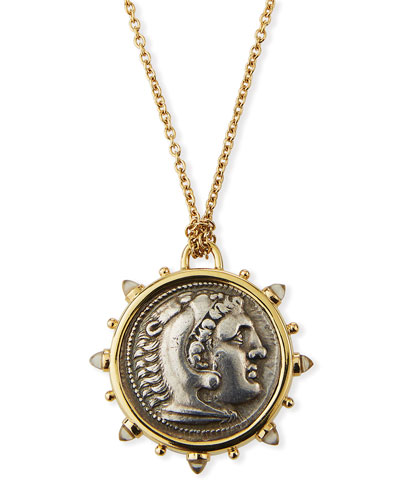 Alexander the Great Medallion Necklace