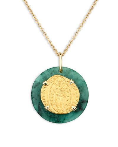 18k Venetian Ducat Medallion Necklace