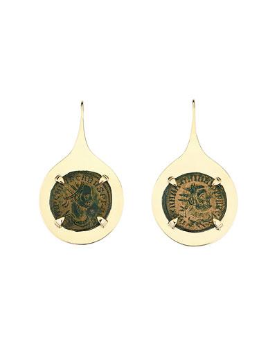 18k Empress Drop Earrings