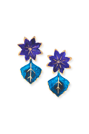 We Dream in Colour Bali Earrings, Blue