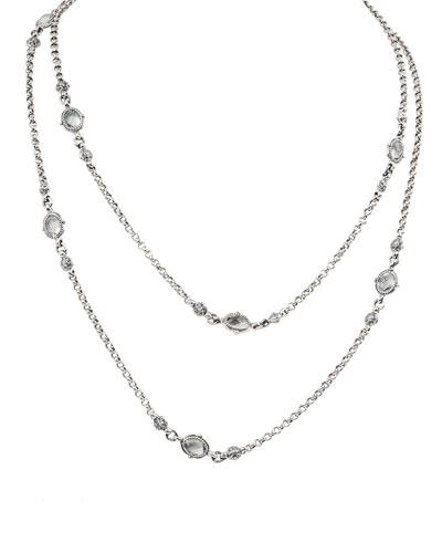 Pythia Double-Strand Crystal Eyeglass Necklace