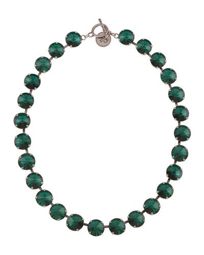 Emerald Rivoli Necklace  Emerald