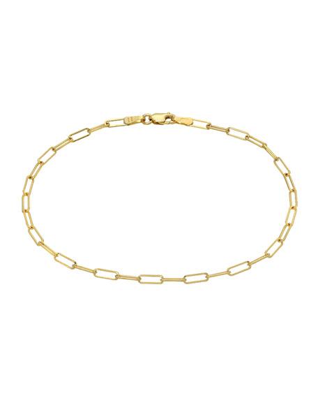 Zoe Lev Jewelry 14k Gold Open Link Bracelet
