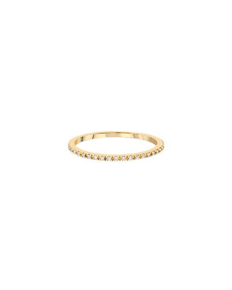 Zoe Lev Jewelry 14k Diamond Eternity Ring, Size 6-8