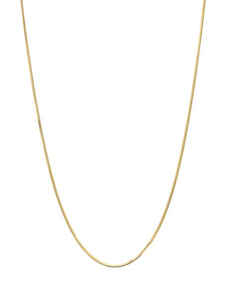 Zoe Lev Jewelry 14k Snake Chain Necklace
