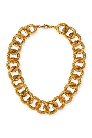 Jennifer Behr Brenna Chain-Link Necklace