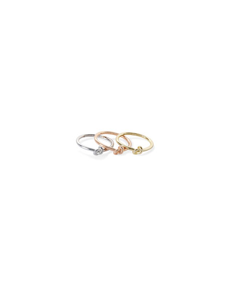 Image 2 of 2: Kendra Scott Presleigh Tricolor Rings, Set of 3, Size 6-8