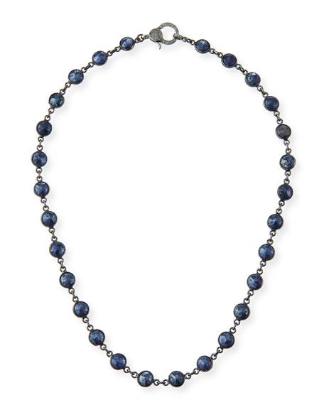 Margo Morrison Mystic Blue Moonstone Necklace