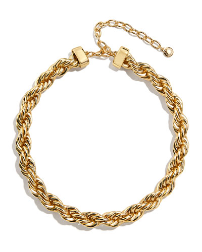 Petra Chain Collar Necklace