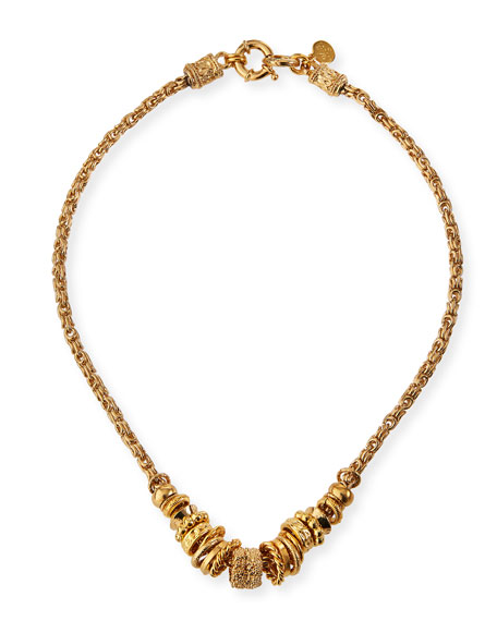 Image 1 of 2: Gas Bijoux Marquise Necklace