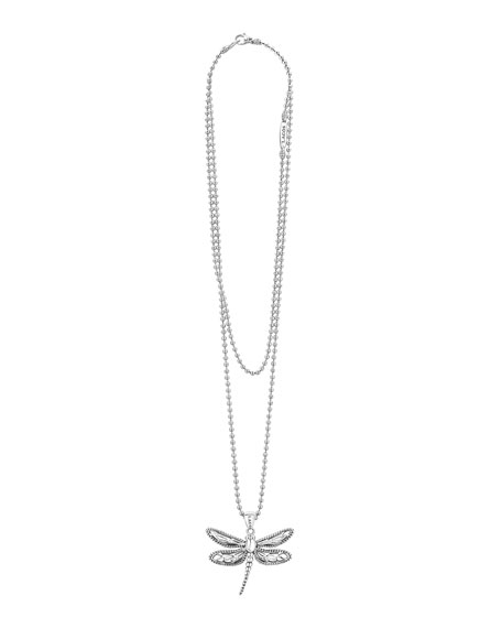 Image 2 of 4: Lagos Rare Wonders Dragonfly Pendant Necklace