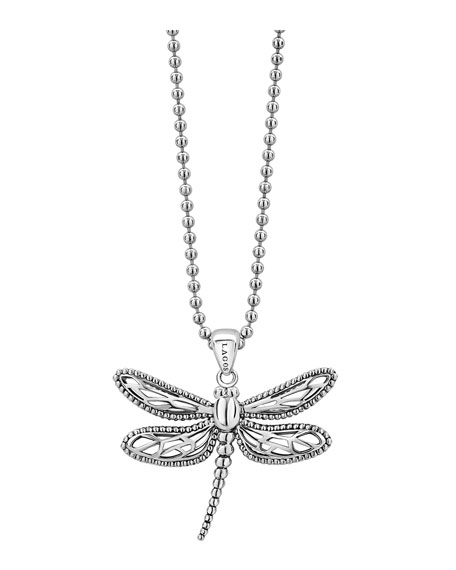 Image 1 of 4: Lagos Rare Wonders Dragonfly Pendant Necklace