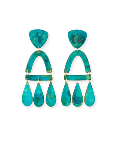 Castara Earrings  Verdi