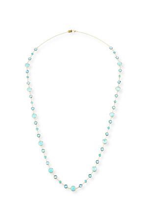 Ippolita 18k Gold Lollitini Multi-Stone Long Necklace