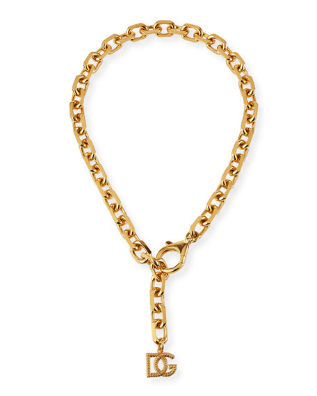 Image 1 of 2: Dolce & Gabbana DG Lariat Necklace