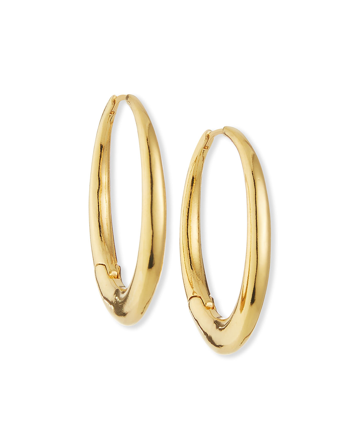 Tai Oval Chunky Hoop Earrings