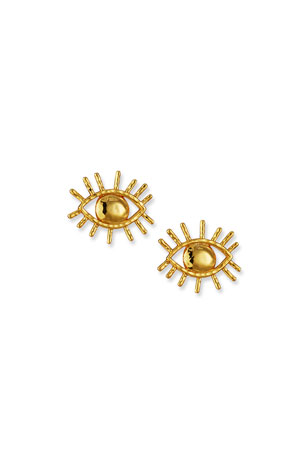 NEST Jewelry Evil Eye Stud Earrings