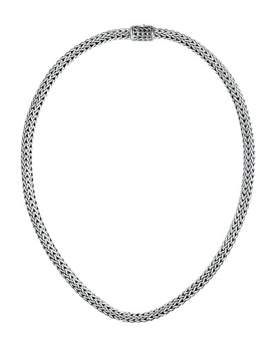 "John Hardy Extra-Small Woven Chain Necklace, 18""L"