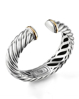 David Yurman Waverly Bracelet with Gold