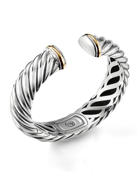 David Yurman Waverly Bracelet with Gold