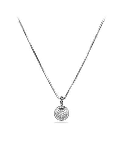 David Yurman Petite Cerise Pendant with Diamonds on Chain