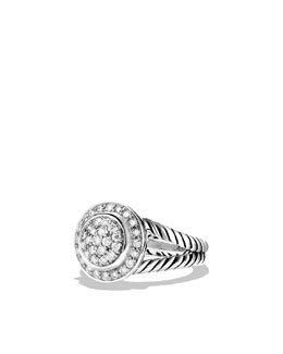 David Yurman Petite Cerise Ring with Diamonds