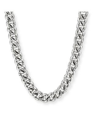 """David Yurman Curb Chain Necklace, 18""""L"""