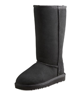 UGG Australia Classic Tall Boot, Black, Youth
