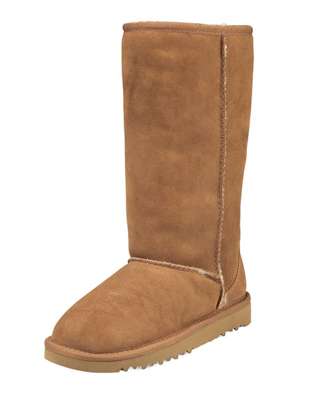 Classic Tall Boot, Chestnut, 5-6Y
