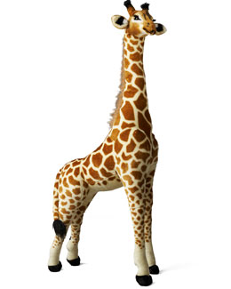 Steiff Tall Giraffe Plush