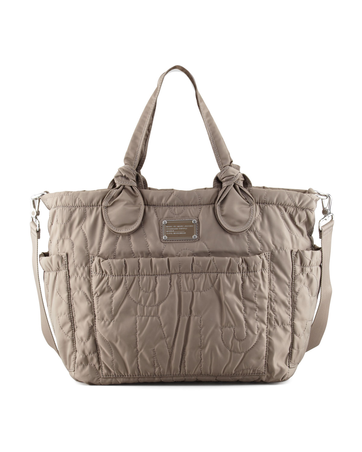Pretty Eliza Baby Bag Gray