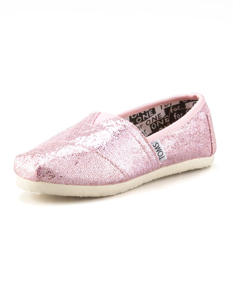 Pink Glitter Shoe, Youth