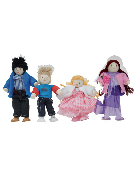 """""""My Family"""" Doll Family of Four"""